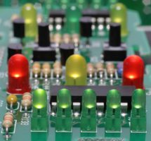 stock-photo-the-printed-circuit-board-with-leds-10556308